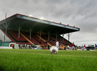 Flancare Park, home of Longford Town