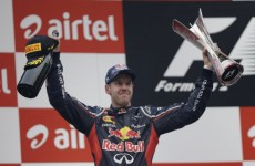 Vettel denies rumours that he's joining Ferrari
