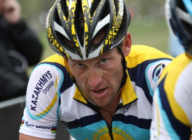 Lance Armstrong: facing a legal battle after USADA report.