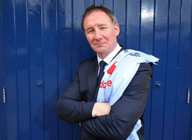 New Boss: Dublin's Jim Gavin in Parnell Park yesterday.