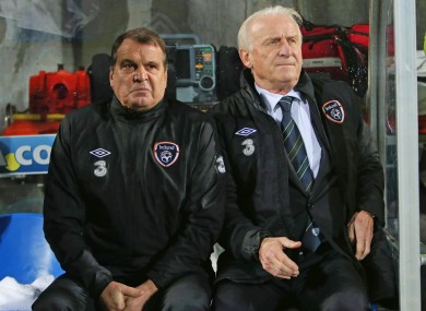 Marco Tardelli and Giovanni Trapattoni this week.