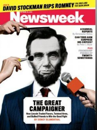The current edition of Newsweek