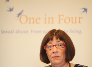 Chief Executive of One in Four Maeve Lewis at the publication of their Annual Report for 2011 in the Royal College of Physicans.