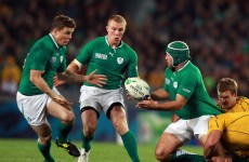 Injury rules Brian O'Driscoll and Rory Best out of November Series