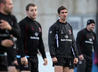 Ruan Pienaar during Ulster training this week.