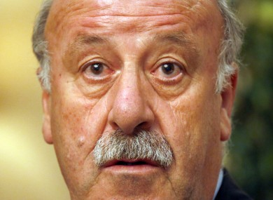 Del Bosque says his main hope for El Clasico is that the players put in