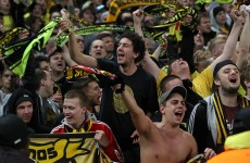 VIDEO: Borussia Dortmund fans bring the noise, turn a police escort into a party
