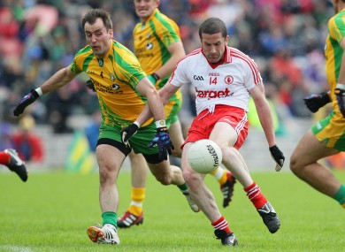 Donegal's Karl Lacey will face Tyrone's Stephen O'Neill in next year's Ulster championship.