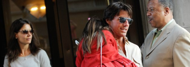 Tom Cruise, Katie Holmes and Suri sighting - New York