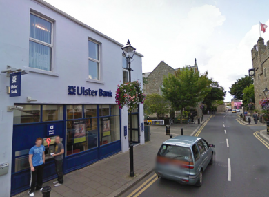 The Ulster Bank on Dalkey's Castle Street (file photo).