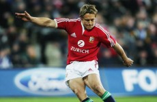 No, Jonny. No, no, no: Wilkinson wants to tour with Lions again