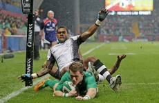 As it happened: Ireland v Fiji, November internationals