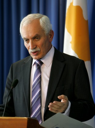 Cyprus Finance Minister Vassos Shiarly