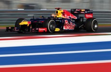 Party in the USA: Vettel imperious in practice