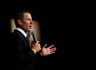 Lance Armstrong: facing probe.