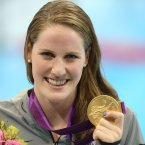 Not many athletes so young can win gold at the Olympics in a record time, but Missy Franklin is the exception that proves the rule (Mike Egerton/PA Wire).
