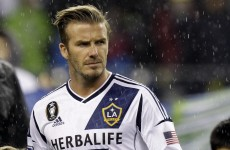 Beckham to play last game with Galaxy, as Aussies declare 'race on' for ex-England star