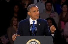 Video: President Barack Obama's victory speech in full