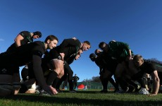 In pictures: Ireland's rugby squad train ahead of Argentina clash