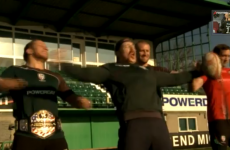 VIDEO: WWE wrestler Sheamus trains with London Irish