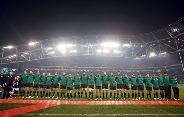 The Ireland team 10/11/2012