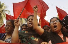 Clashes with police as 10,000 workers join Bangladesh fire protest