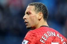 Manchester City apologise to Ferdinand over coin-throwing incident