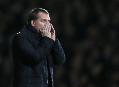 Brendan Rodgers admitted he was taken aback by the ineptitude of his side's performance today.