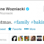 And of course, you can't follow McIlroy without also following  Wozniacki - his girlfriend and a fine tennis player in her own right.