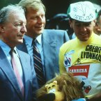 Stephen Roche was so enamoured with Charles J Haughey's dedication to his cause that he took him up on his offer to visit his Abbeville mansion for tea. © Billy Stickland/INPHO