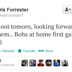 One of the Airtricity League's hottest properties, follow Chris Forrester before he gets famous.