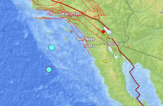 US-Mexico border hit by two offshore earthquakes