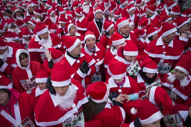 Germany Santa Claus Run