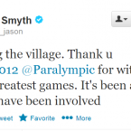 Like McKillop, Smyth was a credit to Ireland at the Paralympics, and even narrowly missed out on qualification for the Olympics.