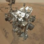 The Mars Curiosity Rover's self portrait. Say cheese! Image: NASA