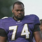 During his childhood and teenaged years, Oher was living on the streets while his crack-addicted mother lived in public housing, reported NPR. He was eventually taken in to live with a wealthy family, played college football at the University of Mississippi and drafted into the NFL in 2009 for the Baltimore Ravens. (Image: Wikimedia)