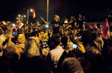 Egyptians continue to protest outside presidential palace