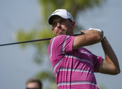 Schwartzel is currently on 14-under.