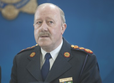 Garda Commissioner Martin Callinan (File photo)