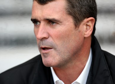 Roy Keane: favourite. 
