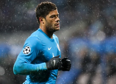 Zenit attacker Hulk.