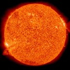 One of the 'Sun Art' images captured by NASA's solar Dynamics Observatory.