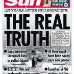 The families of victims of the Hillsborough stadium disaster have been fighting for the truth for 23 years. An independent report issued in September brought about apologies from The Sun newspaper which had published fabrications about the day's events, lies told by police as part of what has been described as the biggest cover-up in British history.