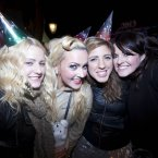 Fiona Walsh, Tanya Collins, Laura Collins and Lisa Farrell enjoying Imelda May's performance. (Photo: Leon Farrell/Photocall Ireland)