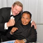 Meeting former boxer Muhammed Ali. Pic: Photocall Ireland/James Higgins