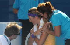Azarenka row as Djokovic storms into final