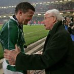 O'Driscoll led Ireland with distinction for almost a decade. His crowning glory was the Grand Slam of 2009 (INPHO/Morgan Treacy).