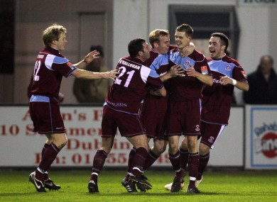 Cobh Ramblers are set to play First Division football next year.