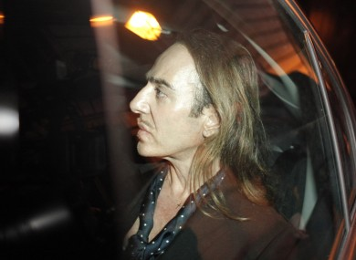 Former Dior designer John Galliano leaves a Paris court house after being given a suspended sentence for anti-Semitic remarks.