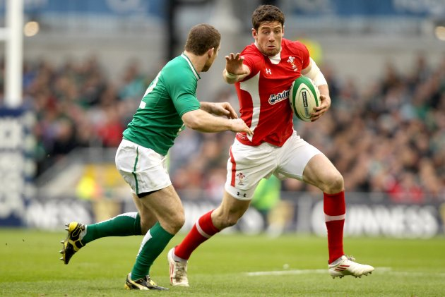 Gordon D'Arcy and Alex Cuthbert 5/2/2012